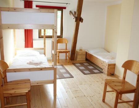 Ferienwohnung Apfel - Eines der über 2 Schlafzimmer