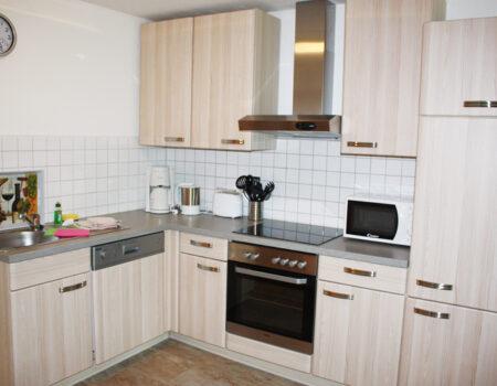 Ferienwohnung Birne - Einbauküche mit Komplettaustattung