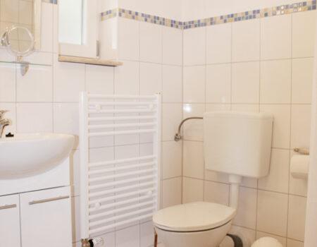 Ferienwohnung Birne - Bad mit Dusche und WC