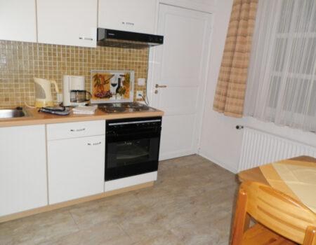 Ferienwohnung Esche - Einbauküche mit Komplettausstattung