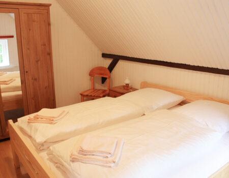 Ferienwohnung Kastanie - Eines der über 2 Schlafzimmer