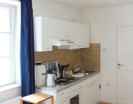 Ferienwohnung Pappel - Einbauküche mit Komplettaustattung