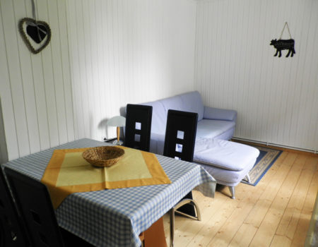 Ferienwohnung Pappel - Wohn- und Essbereich