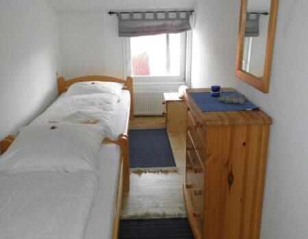 Ferienwohnung Pflaume - eines der 3 Schlafzimmer