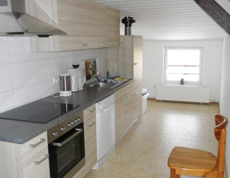Ferienwohnung Pflaume - Einbauküche mit Komplettaustattung