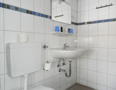 Ferienwohnung Pflaume - Bad mit Dusche und WC