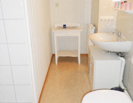 Ferienwohnung Platane - Bad mit Dusche und WC