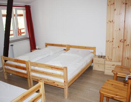 Ferienwohnung Quitte - Eines der über 2 Schlafzimmer