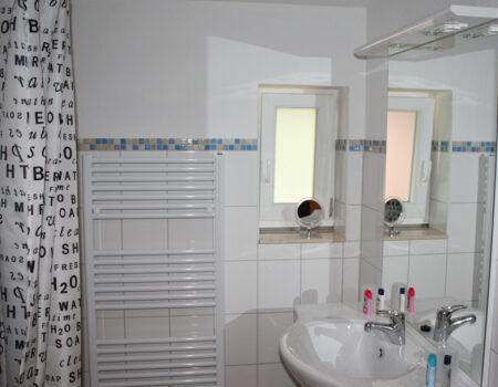 Ferienwohnung Quitte - Bad mit Dusche und WC