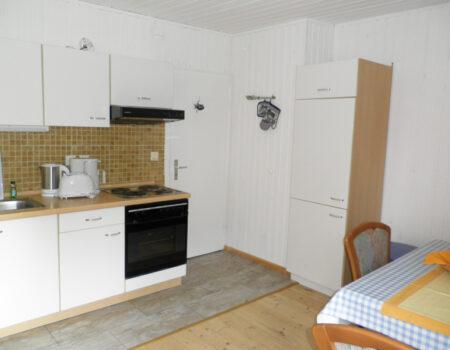 Ferienwohnung Ulme - Einbauküche mit Komplettaustattung